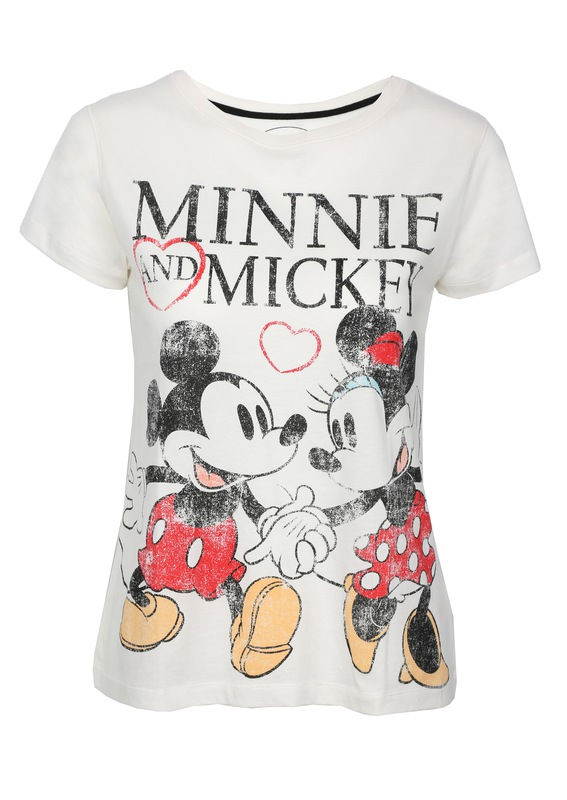 Camiseta Minnie & Mickey Mouse por 7€