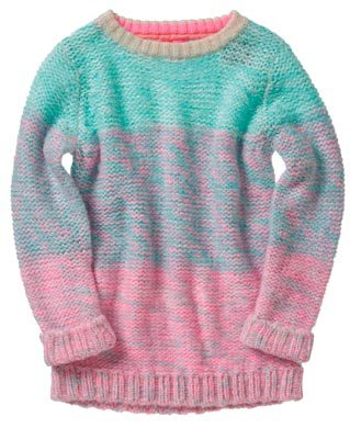 Colorido-jersey-de-nina-en-Espana