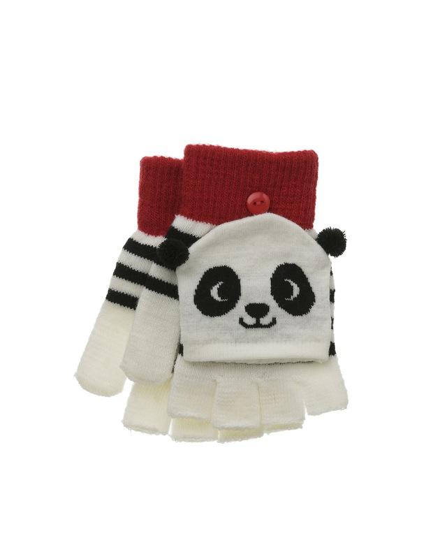 Guantes osito panda por 3€