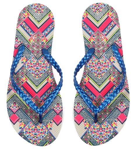 Coloridas-ofertas-de-flip-flops-para-mujer