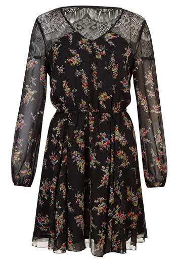 Floreado-vestido-de-mujer-liviano-y-elegante