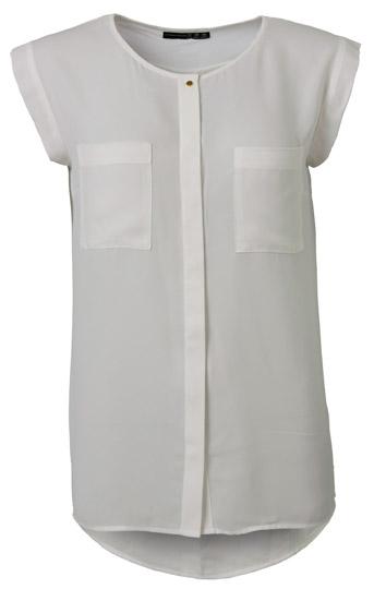 Camisa-blanca-manga-corta-mujer
