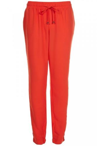 Pantalon-de-mujer-sencillo-en-naranjo
