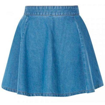 Vaquera-falda-de-jean-azul