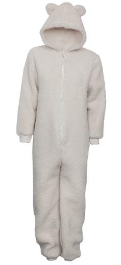 Blanco-pijama-osito-de-mujer-y-nino