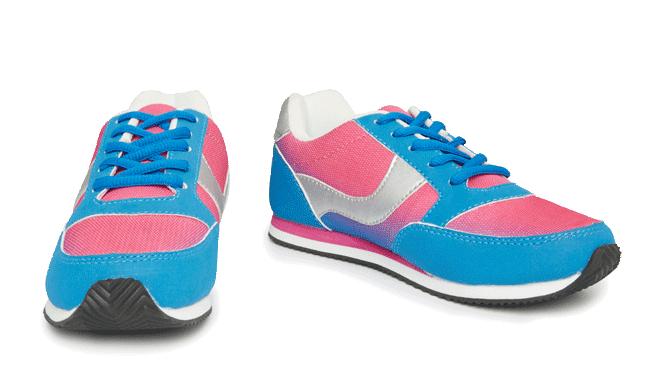 Zapatillas RETRO multicolor para mujer