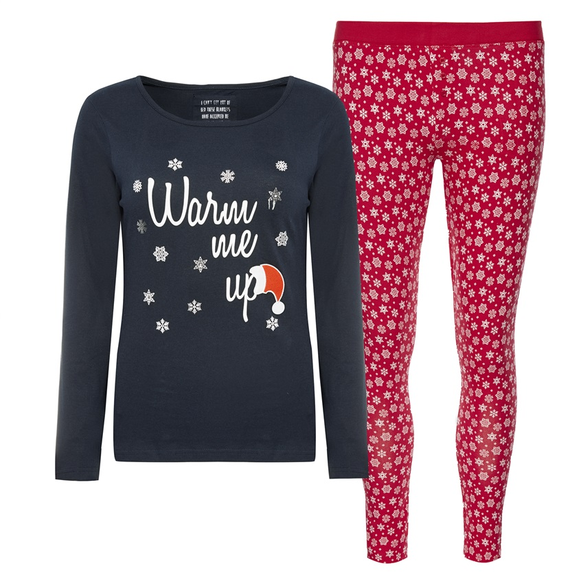 conjunto de pijama primark warm me up