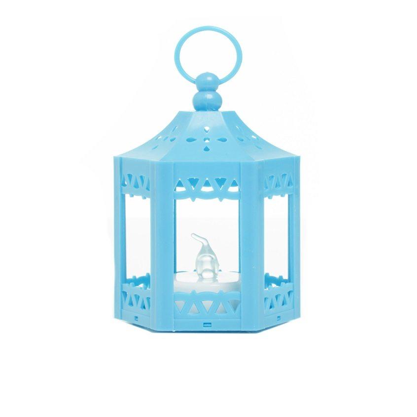 Farolillo LED pequeño azul