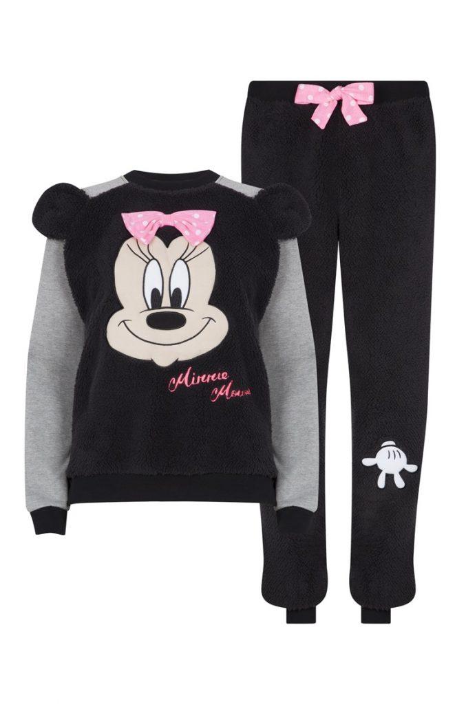 Pijama de forro sherpa de Minnie Mouse