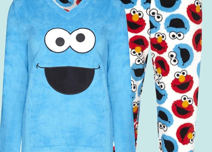 pijama monstruo de las galletas primark