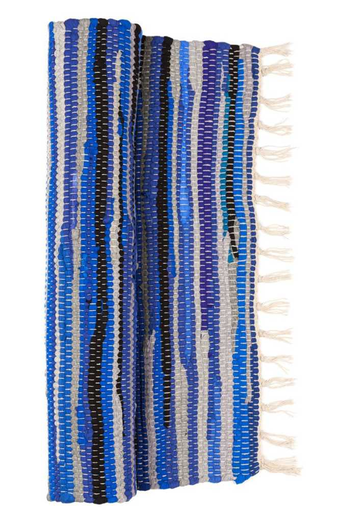 Cortinas De Baño Primark:azul 4 cortina de baño a rayas azul marino 6