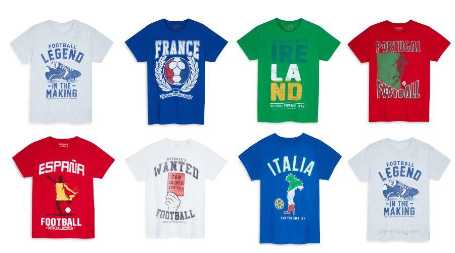Camisetas Eurocopa 2016 Primark