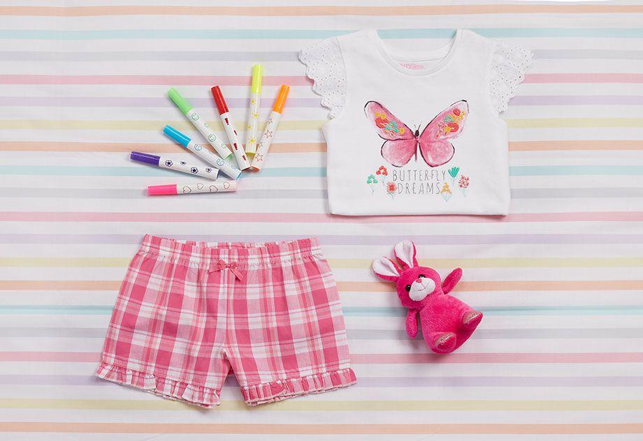 Pijamas para niñas pequeñas 6€