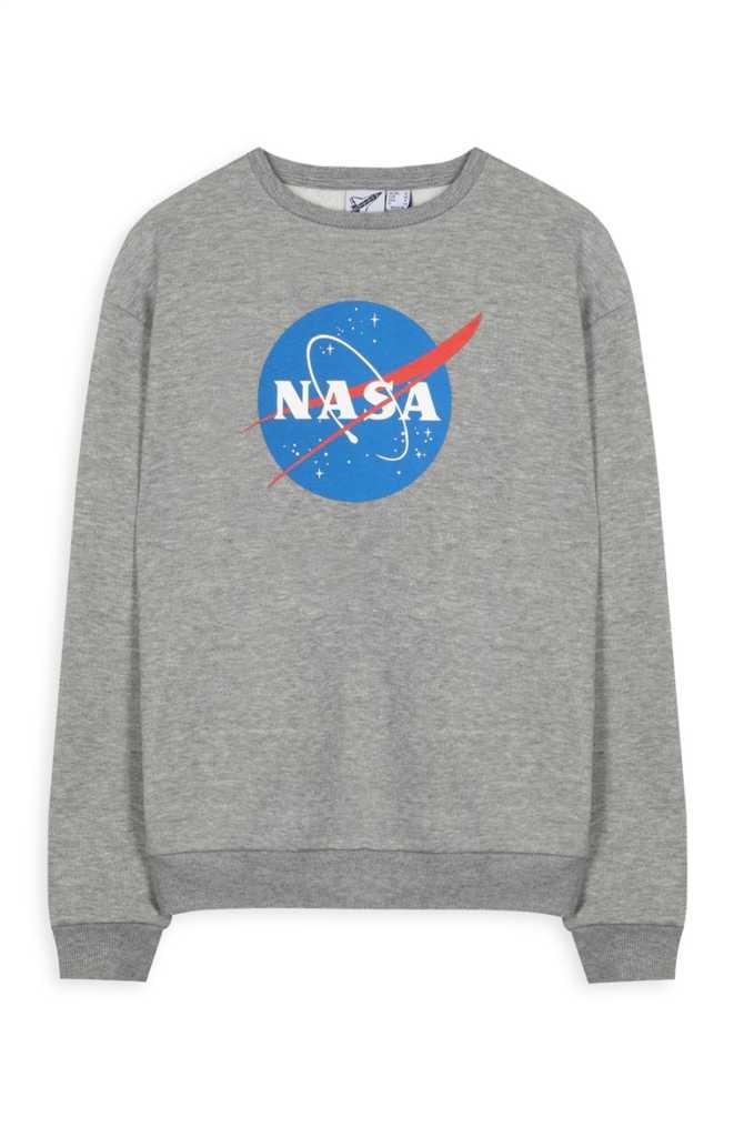Sudadera gris de la NASA 12,00€