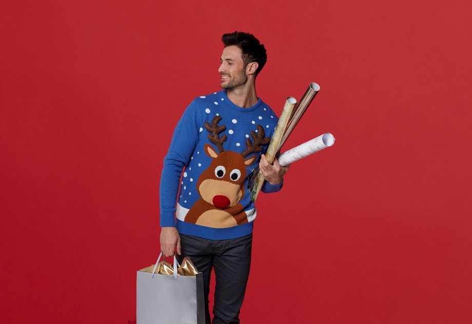 Jersey navideño con reno 18 € Primark