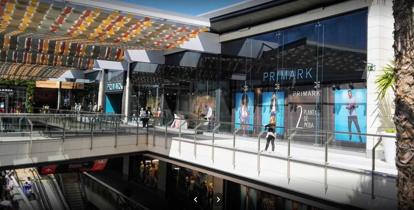 Primark en Mallorca, Centro Comercial Fan Mallorca Shopping
