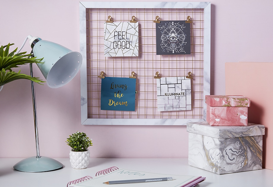 Moda hogar Primark decoración de interiores efecto mármol