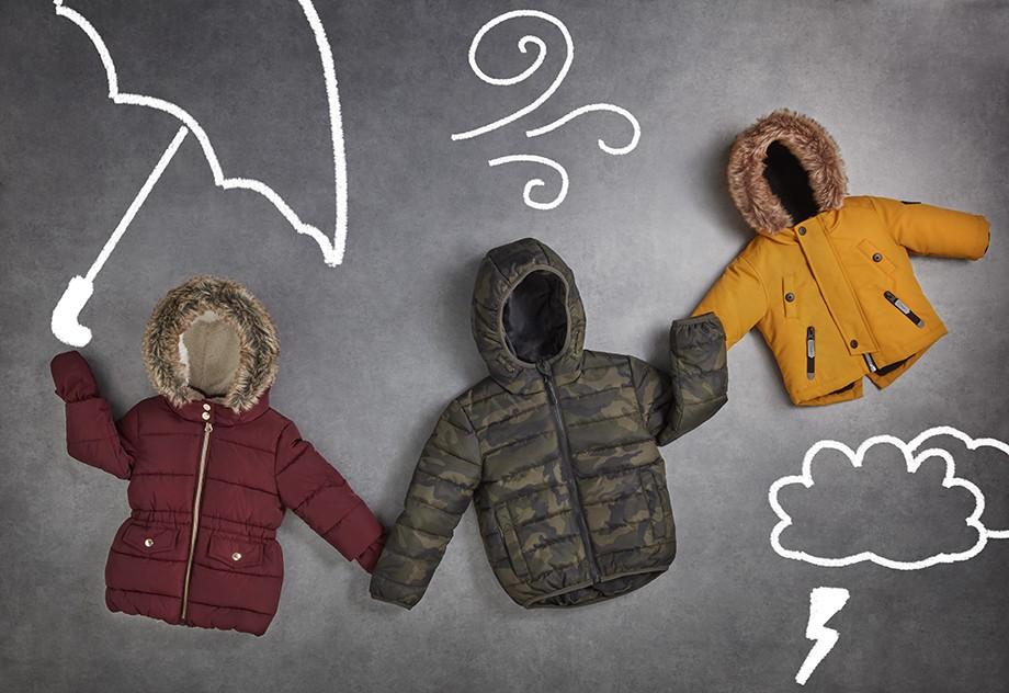 Abrigos de invierno para niños 2017/18 de Primark
