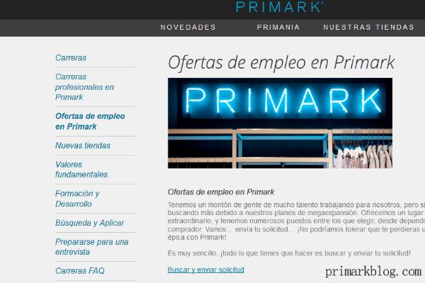 Primark busca 39 trainee managers 39 y 39 store managers - Primark granada catalogo ...