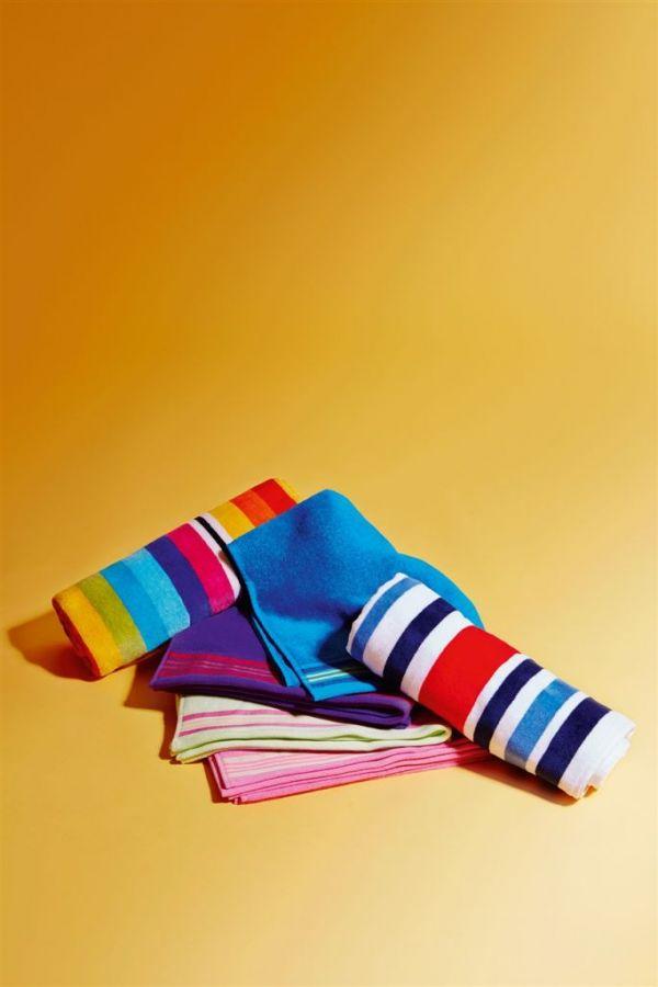 toallas a rayas