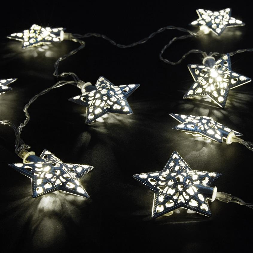 Luces de navidad con estrellas primark cat logo online - Luces led primark ...