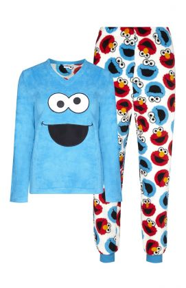 Pijama sherpa monstruo de las galletas