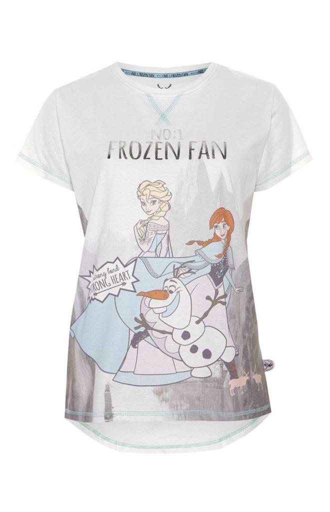 camiseta frozen mujer primark