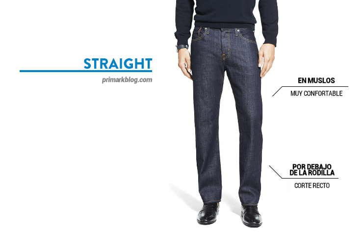 straight vaqueros jeans Primark