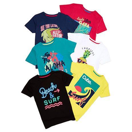 Camisetas baratas para niños - Catálogo Primark Online