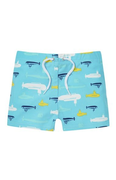 9cfc29178237 Bañador azul con estampado de submarinos 3,00€