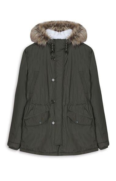 Abrigo verde primark
