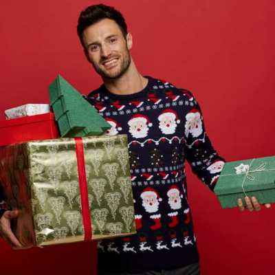 jerséis navideños primark para hombre