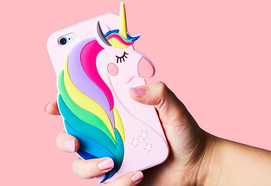 Carcasa unicornio Primark
