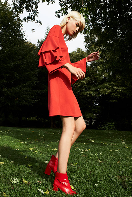 Moda mujer O/I 2017: Tendencia Rojo Total