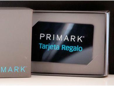 Tarjetas Regalo Primark