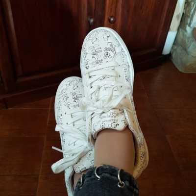 Zapatillas Mickey por Susana (La Zenia)