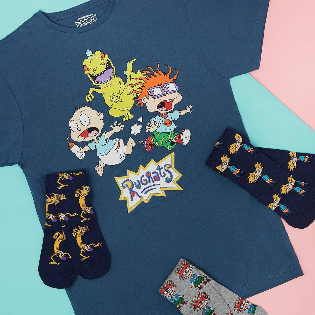 Camiseta y calcetines Rugrats