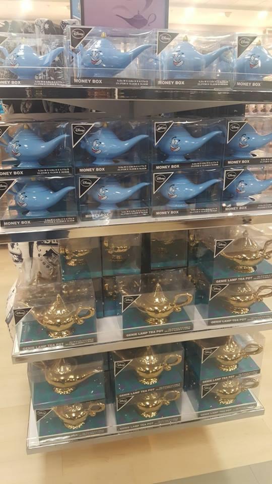 Genio de la lámpara Aladdin Primark