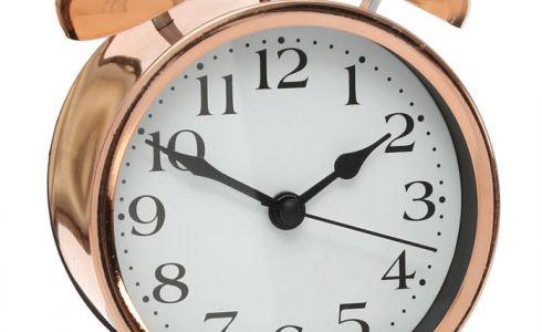 Reloj mini cobre - 981617