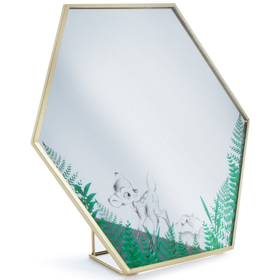 Espejo hexagonal Bambi de Primark