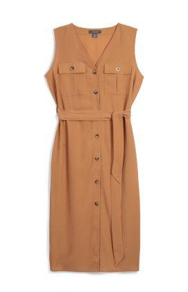 Recibe la primavera con vestidos Button Up