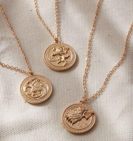 medallones juego de tronos