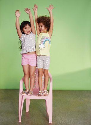 Mix and match para niñas
