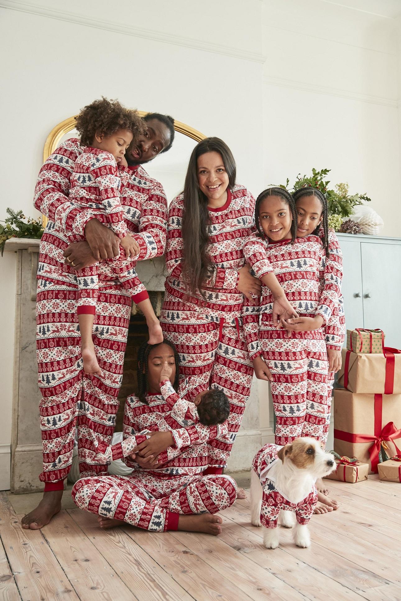 Pijama familiar a juego