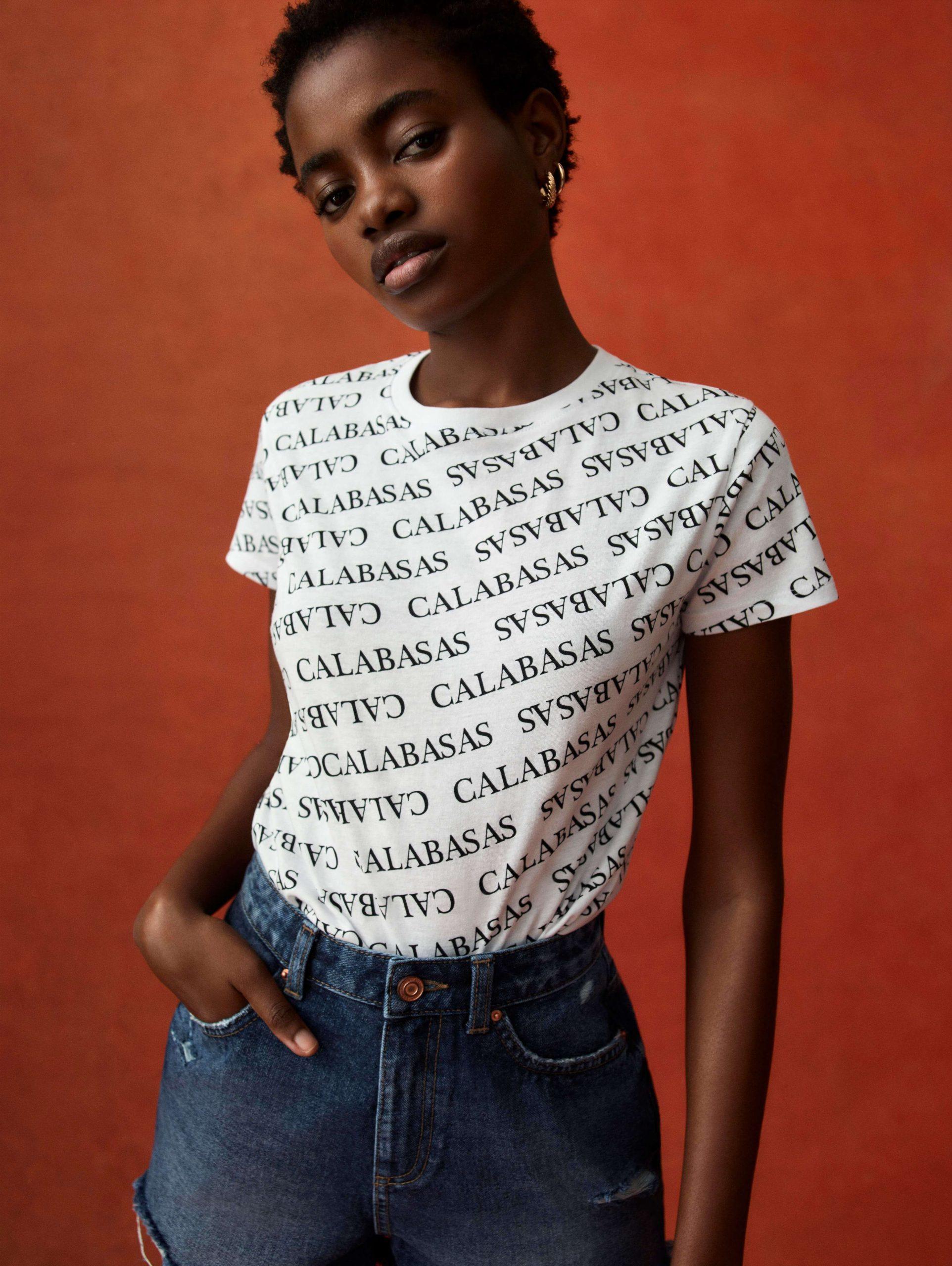 Camiseta desenfadada mujer