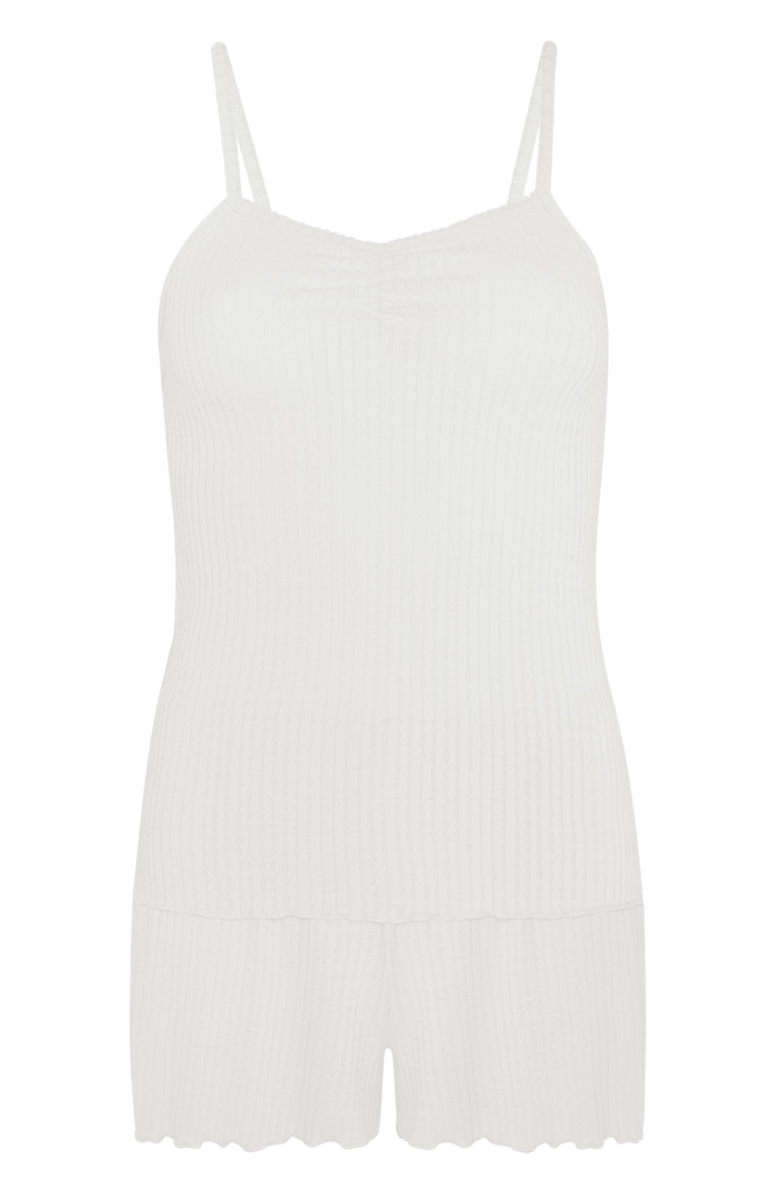 Set de camisa y short blanco