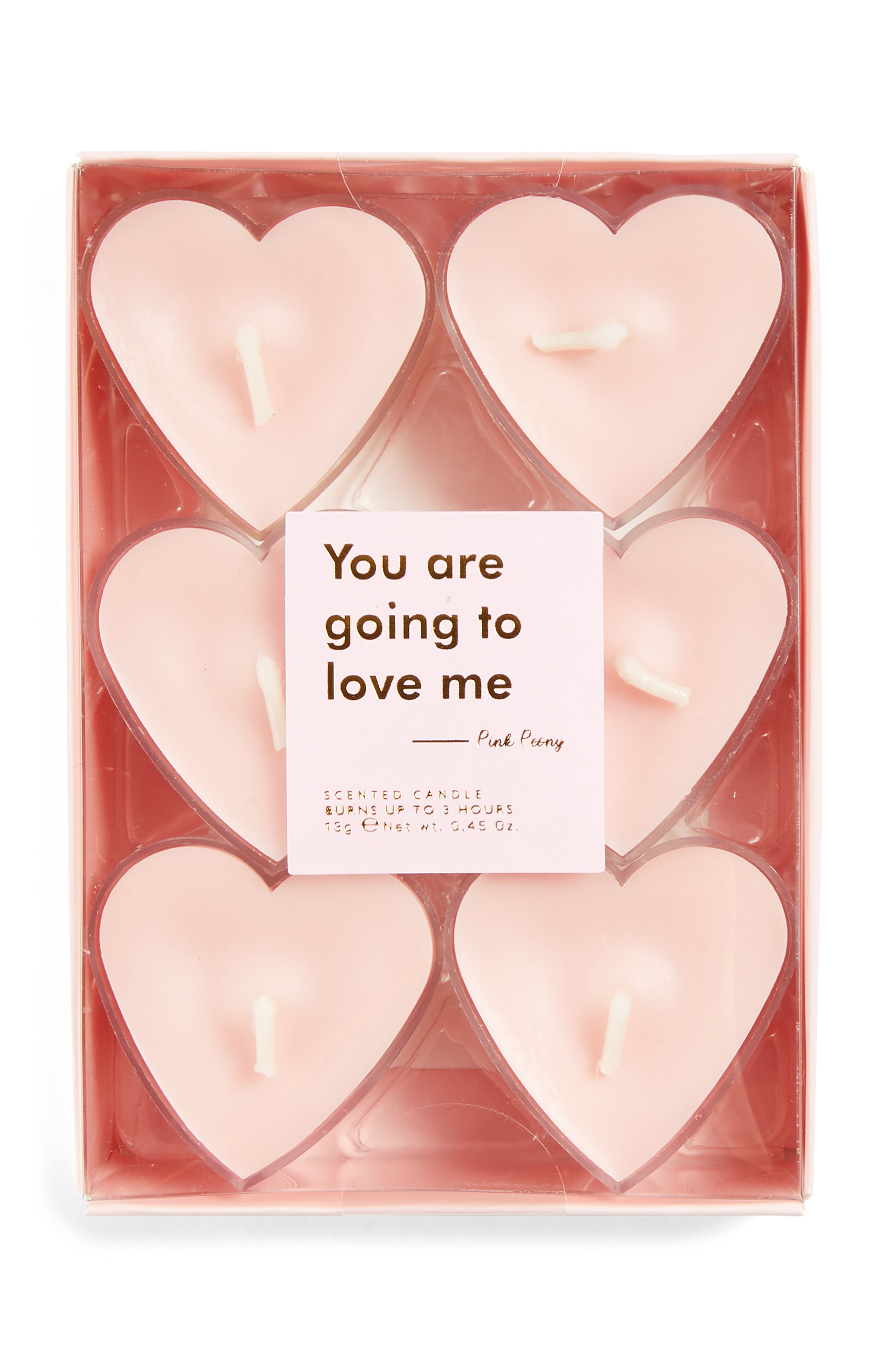 Velas para regalo de San Valentín